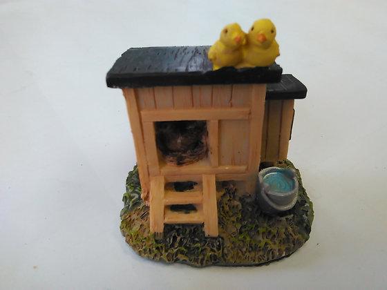 Chicken Coop Miniature Fairy Garden