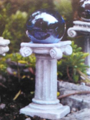 Fiddlehead Fairy BLUE GAZING BALL