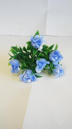 SPRIG BLUE PLASTIC FLOWERS