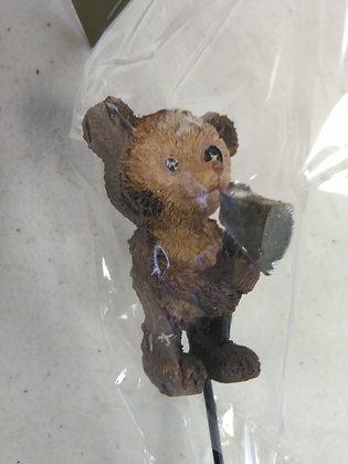 TEDDY BEAR W/AXE (HALLOWEEN)