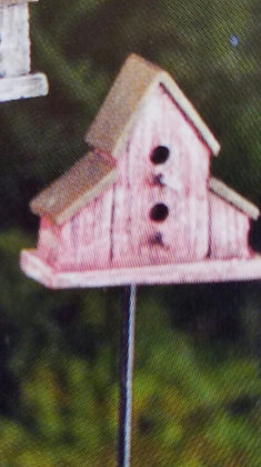 Fiddlehead Fairy RED BIRDHOUSE