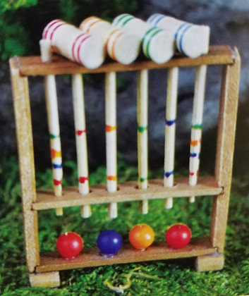 Fiddlehead Fairy CROQUET SET
