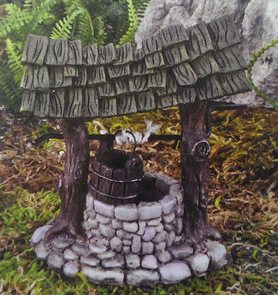Fiddlehead Fairy MINI WISHING WELL