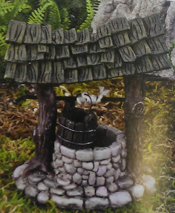 Fiddlehead Fairy WISHING WELL