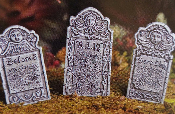 Fiddlehead Fairy HEADSTONES (SET OF 3)