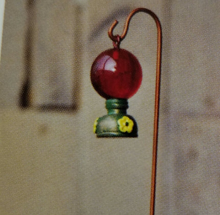 Fiddlehead Fairy HUMMINGBIRD FEEDER
