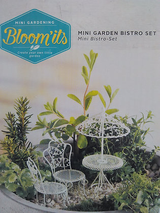 MINI BISTRO SET WHITE