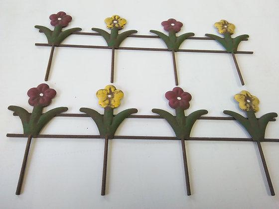 Flower Fence Miniature Fairy Garden