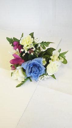 MIXED BOUQUET/ BLUE ROSE