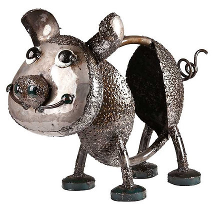OINK THE PIG (LARGE - SILVER) TUBE FOLK