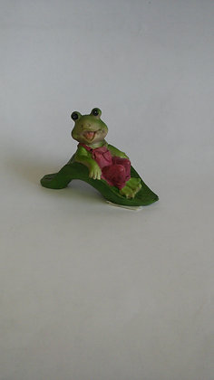 FROG on LEAF SLIDE