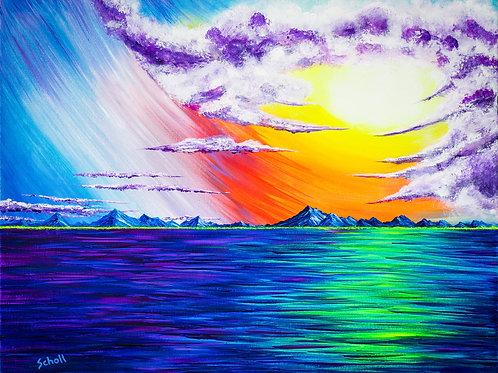 Heavens' Glow