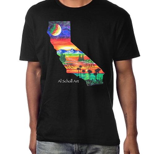 """Cali Love"" Mens T-Shirt"