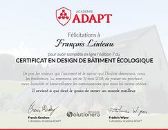 Cetificat_en__design_bâtiment_écologiq