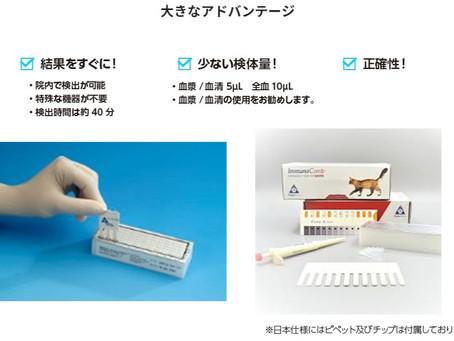 【画期的な検査】院内でFIPの原因:猫コロナウイルスの検査ができます