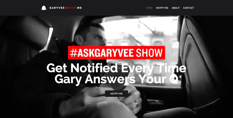 GaryVeeNotifyMe