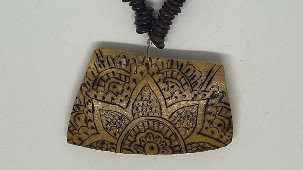 Lotus Gourd Necklace