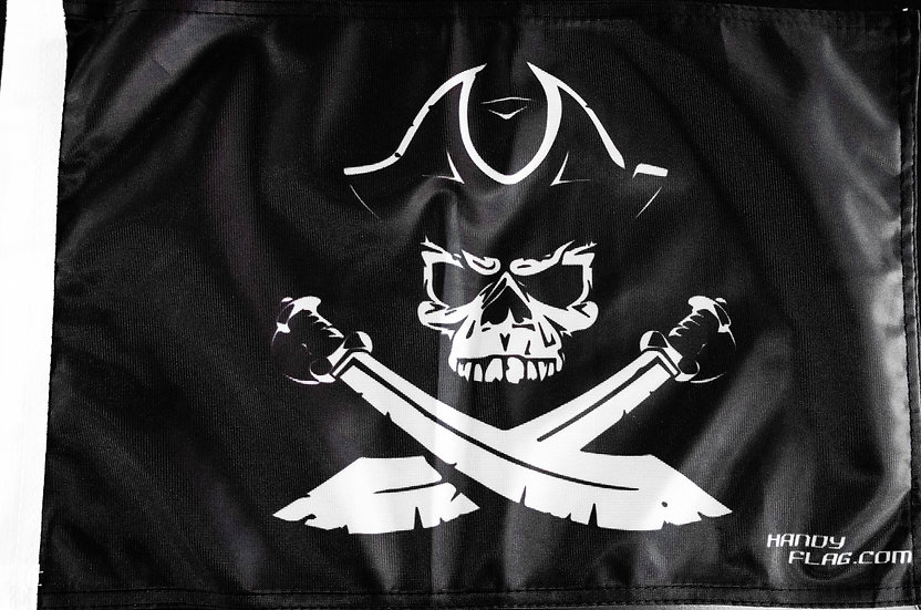 Pirate Replacement Flag