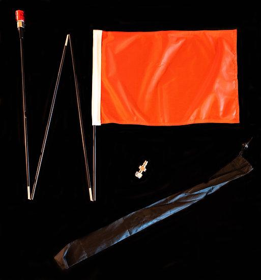 Orange Handy Flag Kit