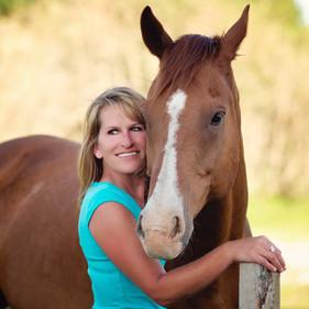 Balade équestre, leçon d'équitation