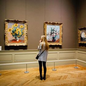 Visite de musée, exposition ou vernissage