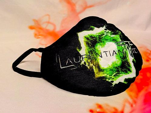 Laurentian Tides Green Facemask