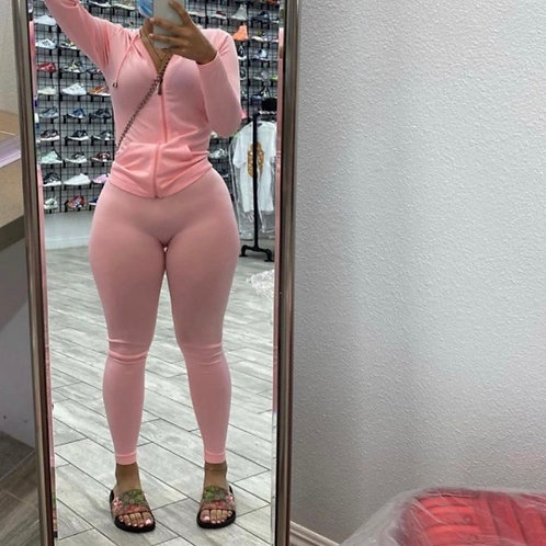 "Track suit ""light pink"""