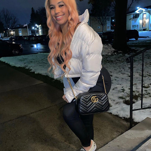 Bubble coat cream