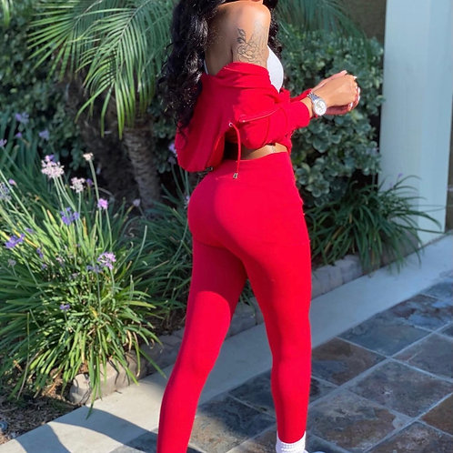 """Track suit """"red"""""""