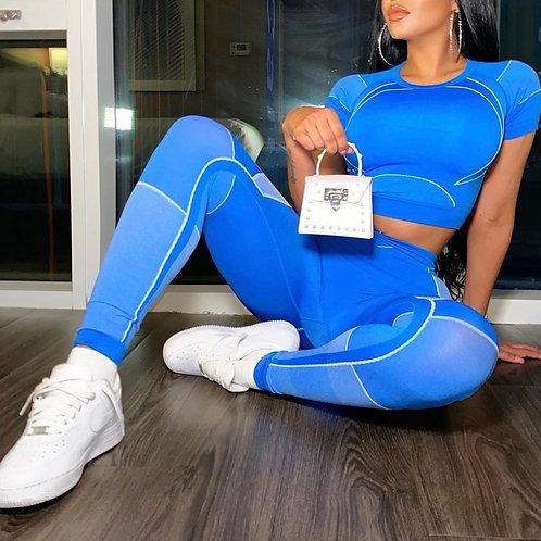 Sporty set blue