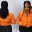 Thumbnail: Bubble coat orange