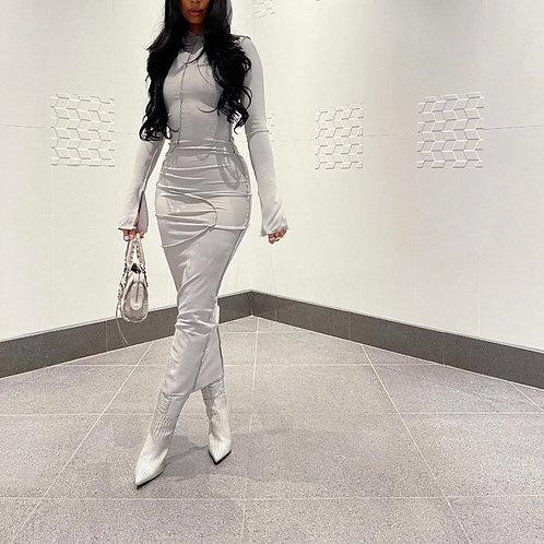 """Hoodie dress """"grey"""""""