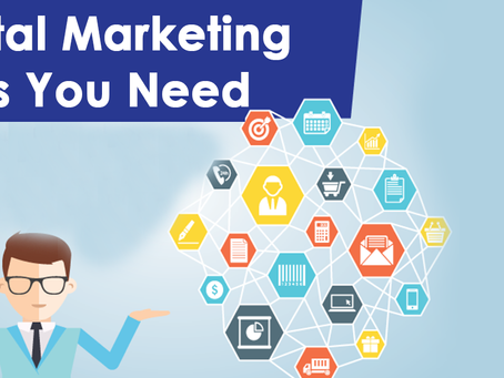 Skills required for pursuing digital marketing