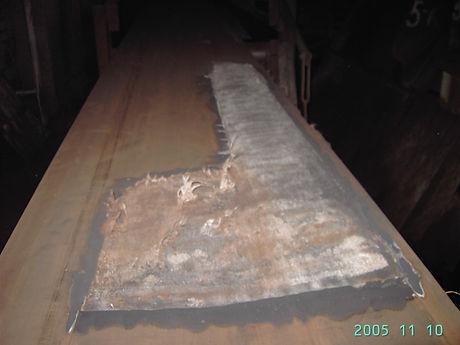 Ремонт транспортерных, конвейерных лент