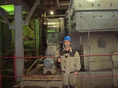 Ремонт промышленного, горнодобывающего и шахтного оборудования.