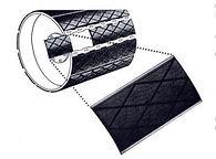 Футеровка для барабанов сменными сегментами Marafon