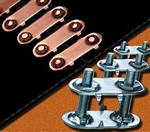 Винтовые, резьбовые соединители транспортерных, конвейерных лент.