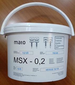 Винтовые соединители MSX-0.2