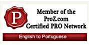 Proz Certified Translator