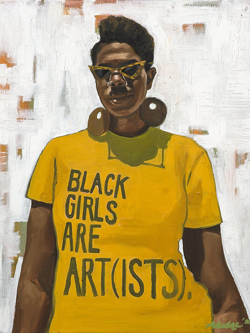 Black Girls Are Art(ists) (Print)