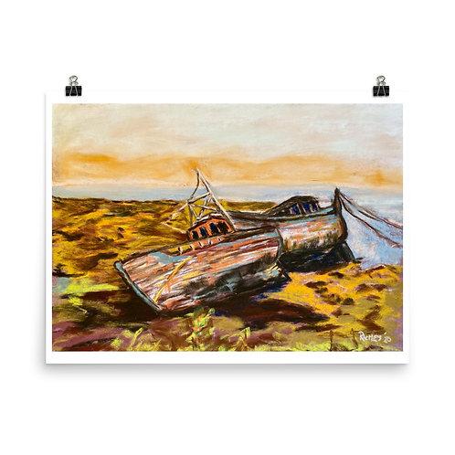 Bay of Fundy, New Brunswick - Pastel Print