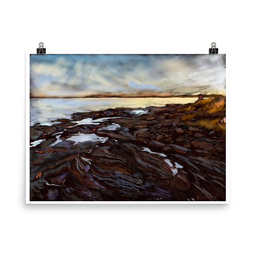 Prince Edward Island - Digital Painting Print