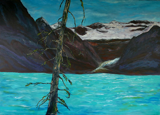 Lake Louise - Acrylic Painting