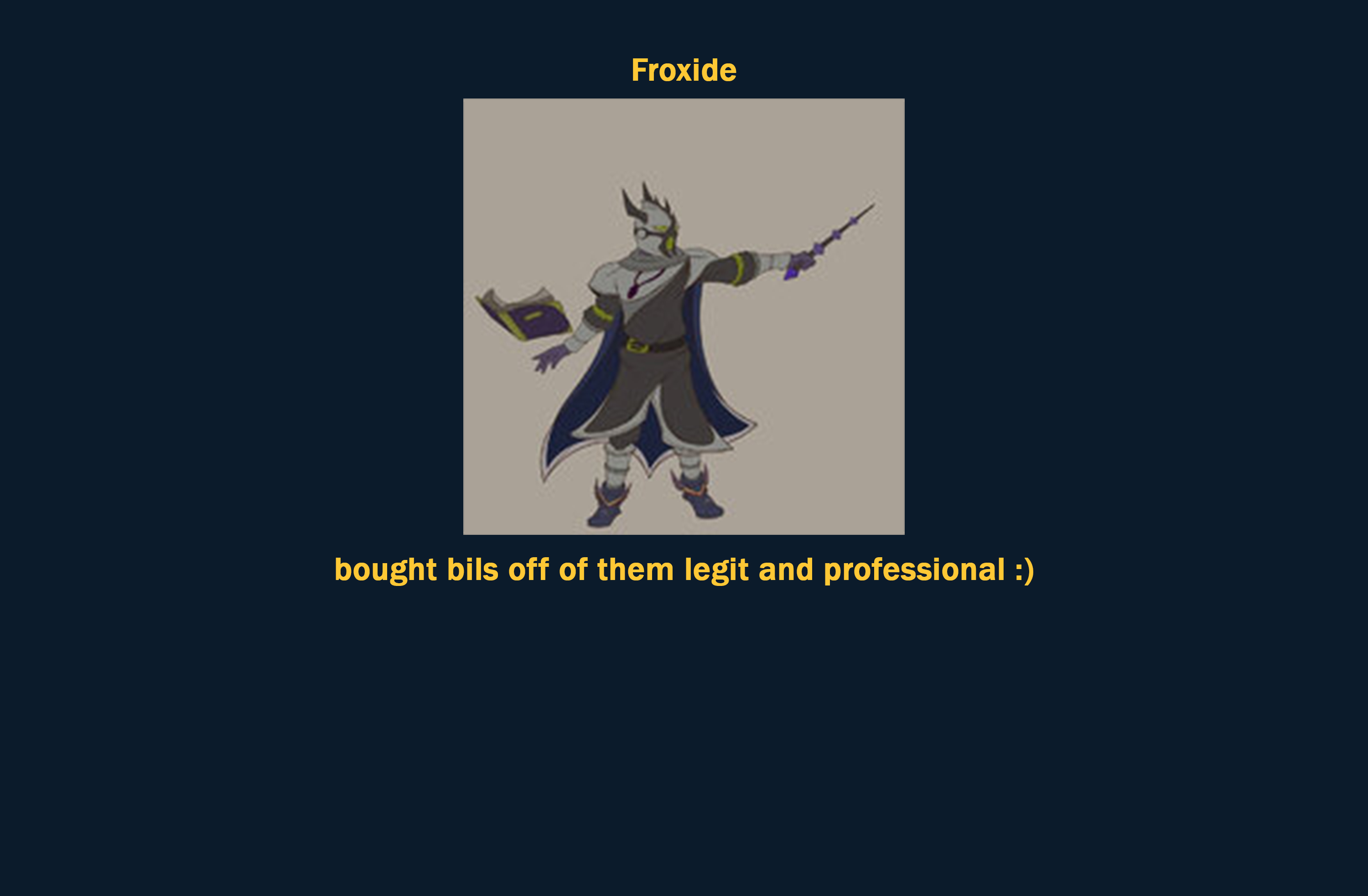 Froxide