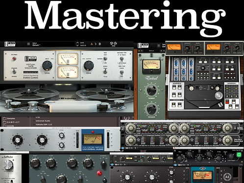 Stem Mastering (Up to 5 stems)