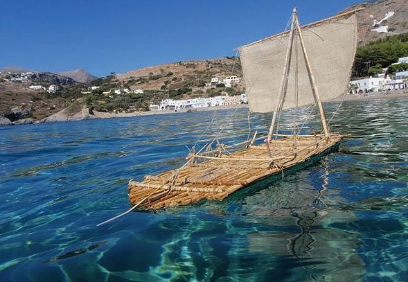 Minature replica of raft