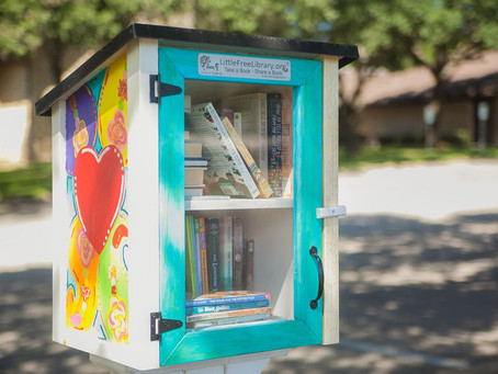 UPC Little Free Library Unveiling!