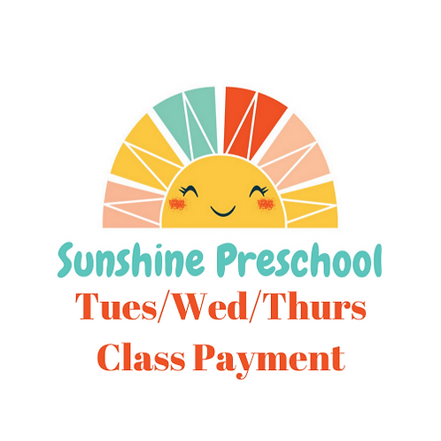 Tues/Wed/Thurs Class Payment