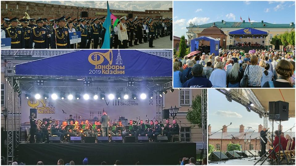 VIII Международный фестиваль духовых оркестров «Фанфары Казани»