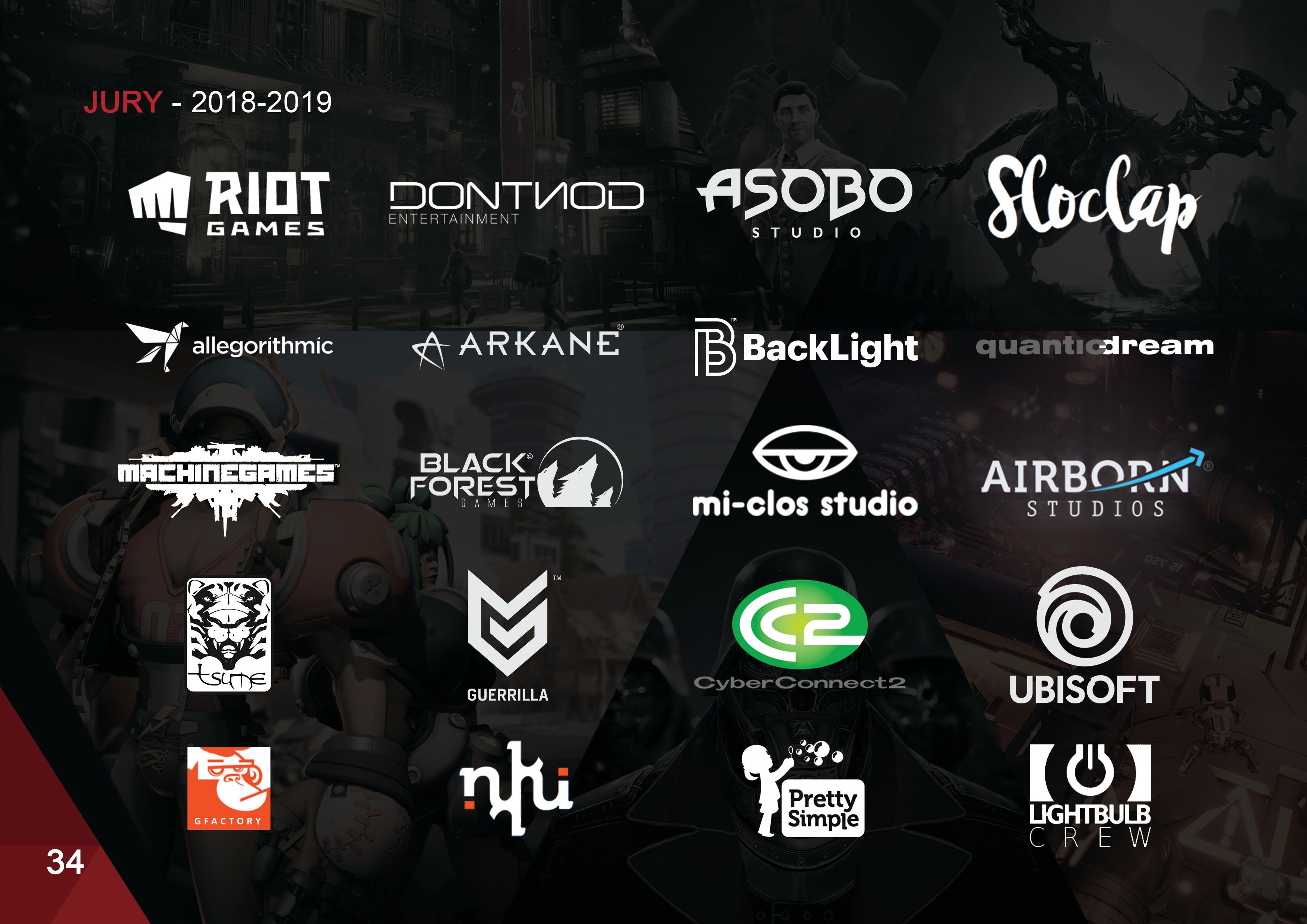 MEMBRES DU JURY GAME ART 2019